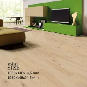 Wymiary podłóg Baltic Wood - Mini