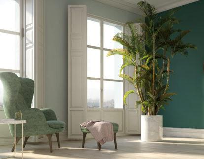 Ciemna czy jasna podłoga - kolor ścian
