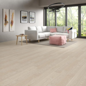 Podłoga drewniana dębowa Dąb Villa Cream