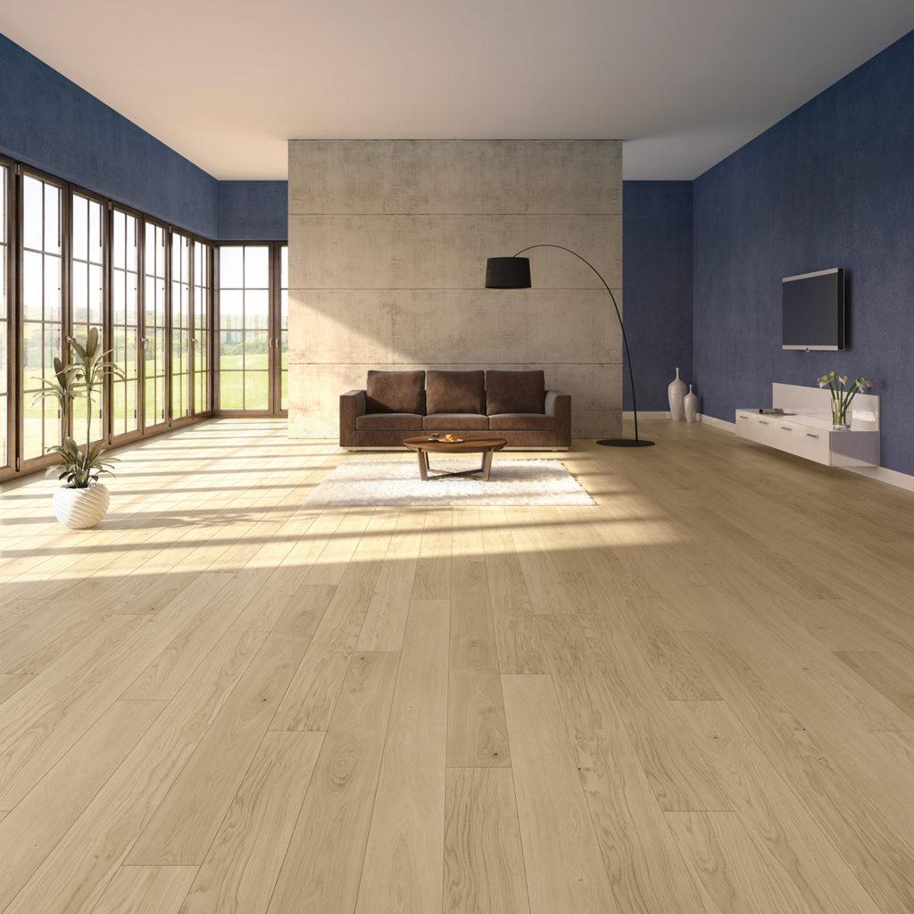jaki kolor ścian dodrewnianej podłogi - inspiracje