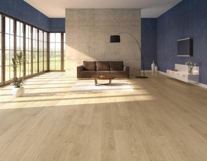 jaki kolor ścian do drewnianej podłogi - inspiracje