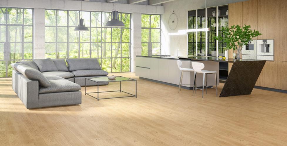 Podłoga drewniana dębowa