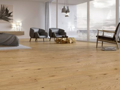 Podłoga wewnętrzu skandynawskim - Balticwood