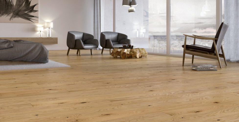Podłoga we wnętrzu skandynawskim - Balticwood