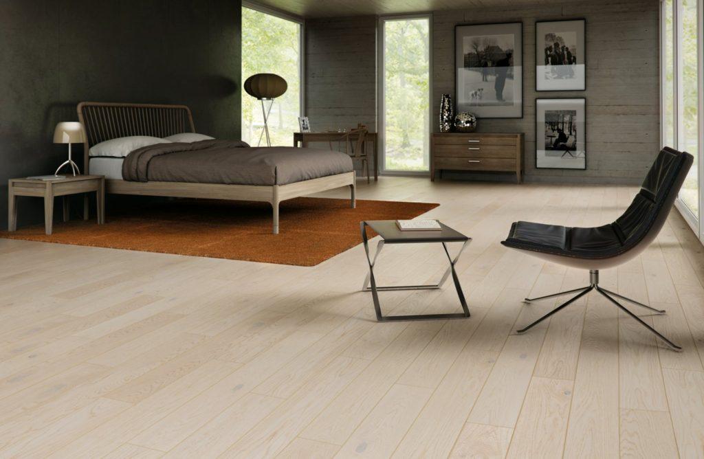 Drewno wewnętrzu - podłoga drewniana Balticwood