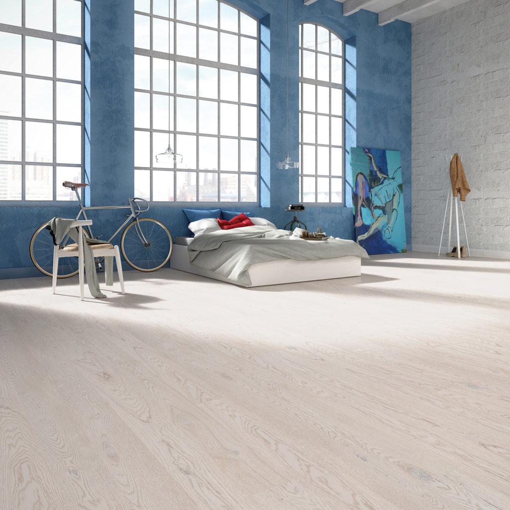 Podłoga drewniana Dąb Cottage 1R Frosty & Frosty