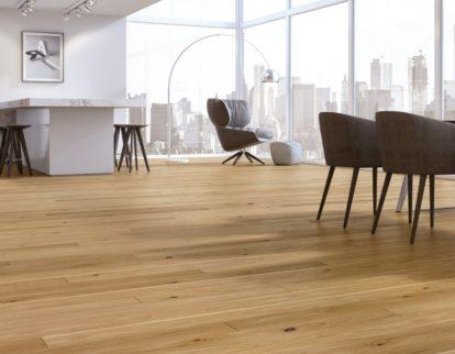 Podłogi rustykalne - aranżacja nowoczesna