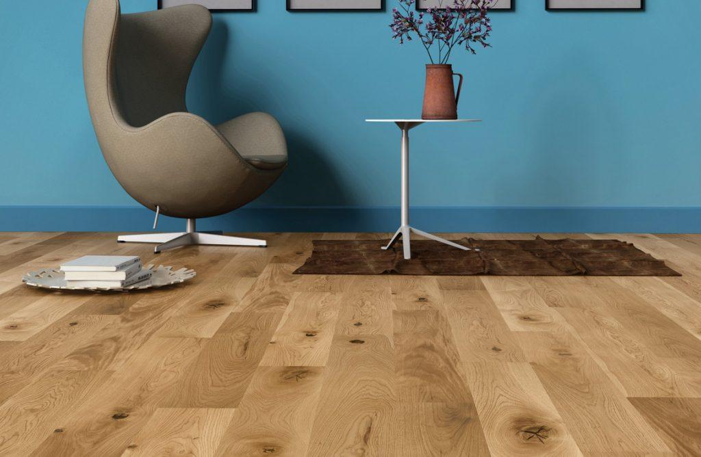 Podłoga drewniana lakier mat szczotkowany