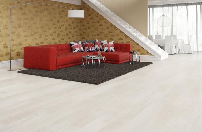 Podłoga drewniana szczotkowana Dąb Unique 1R
