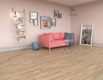 Podłoga do małego mieszkania