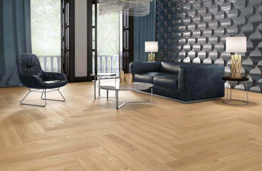 Podłoga drewniana Dąb Villa zkolekcji NoLimits
