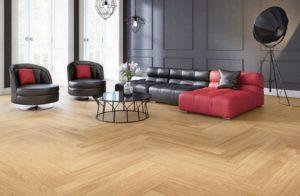 Podłoga drewniana Sense Dąb Villa 1R zkolekcji NoLimits