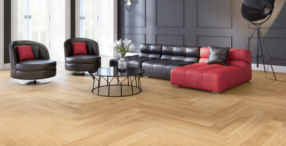 Podłoga drewniana Sense Dąb Villa 1R z kolekcji NoLimits