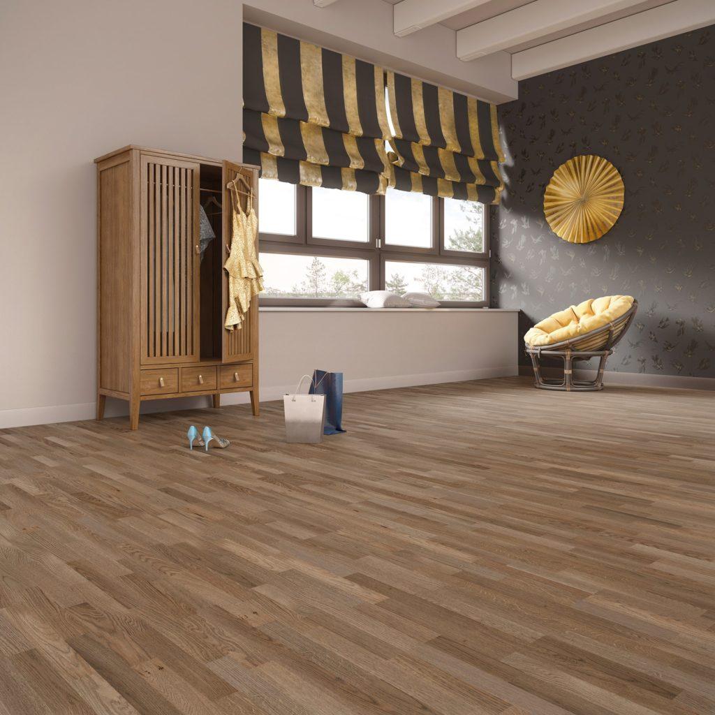 Podłoga drewniana Seven 4Her zkolekcji Jeans