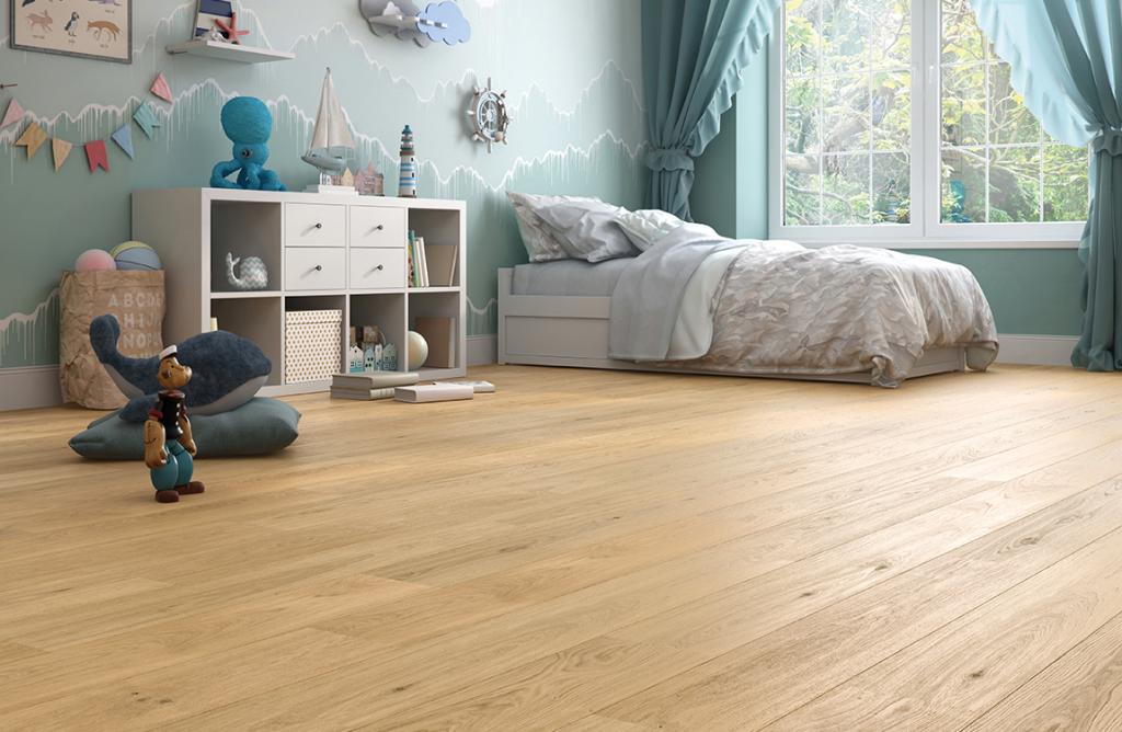 Podłoga drewniana Dąb Classic 1R zkolekcji Smart