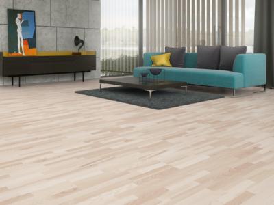 Podłoga drewniana Jesion Classic 3R Cream