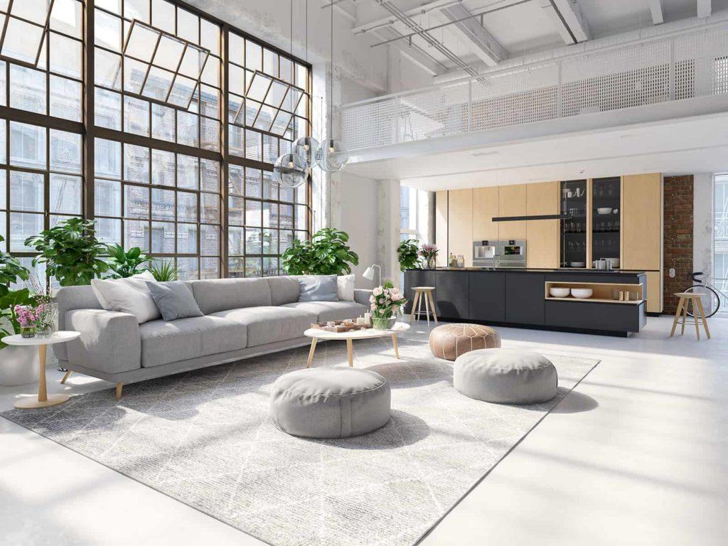 Przestronny apartament wstylu nowojorskim