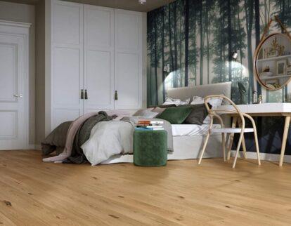 Urban jungle - inspiracja wnętrza z podłogą Baltic Wood